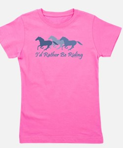 Rather Be Riding A Wild Horse T-Shirt