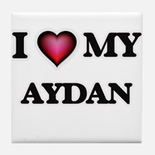 I love Aydan Tile Coaster