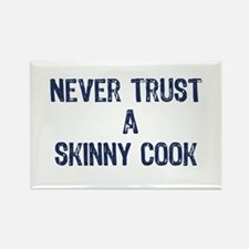 """A Skinny Cook"" - Rectangle Magnet"