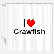 Crawfish Shower Curtain