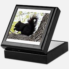 Curious Squirrel Keepsake Box