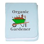 Organic Gardener baby blanket