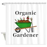 Organic Gardener Shower Curtain