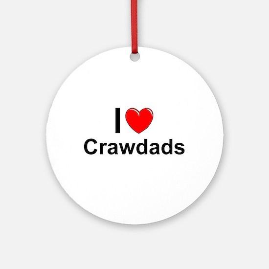 Crawdads Round Ornament