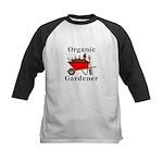Organic Gardener Kids Baseball Jersey