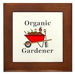 Organic Gardener Framed Tile