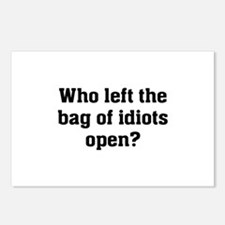 Bag Of Idiots Postcards (Package of 8)