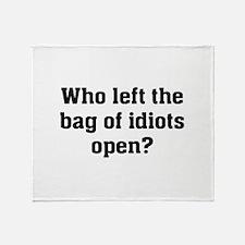 Bag Of Idiots Stadium Blanket