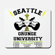 seattle grunge university Mousepad