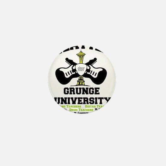 seattle grunge university Mini Button