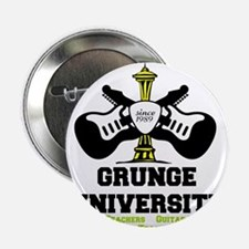 "seattle grunge university 2.25"" Button (100 pack)"