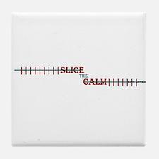 Slice The Calm 'Ladies' Tile Coaster