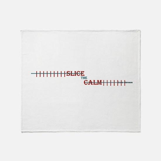 Slice The Calm 'Ladies' Throw Blanket