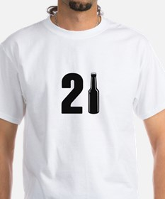 Just Turned 21 Beer Bottle 21st Birthday T-Shirt