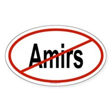 AMIRS Oval Decal