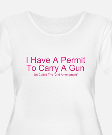 Open Carry Plus Size T-Shirt