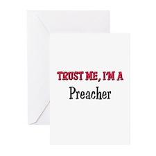 Trust Me I'm a Preacher Greeting Cards (Pk of 10)
