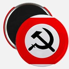 National Bolshevik Party Flag Magnets