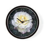 Gorgeous Garden Party Rose Wall Clock