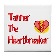 Tanner the Heartbreaker  Tile Coaster