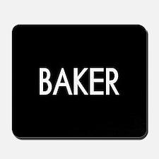 Culinary: Baker Mousepad