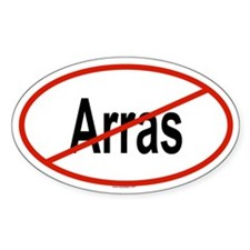 ARRAS Oval Decal