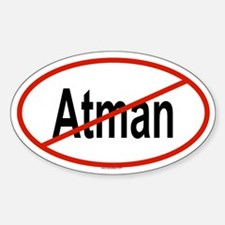 ATMAN Oval Decal