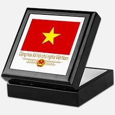 Flag of Vietnam Keepsake Box