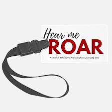 Hear me roar Women's March on Washington Lugga