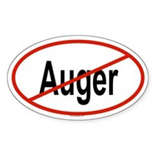 AUGER Oval Decal