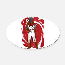 GUARDIAN Oval Car Magnet