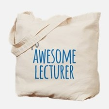 Awesome lecturer Tote Bag