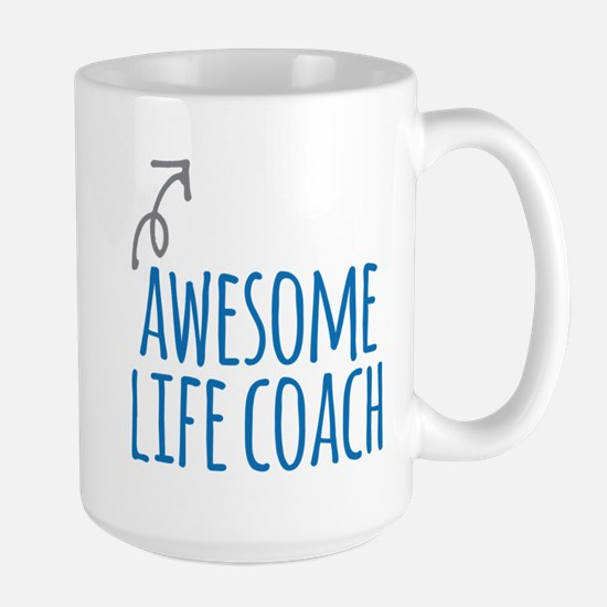 Awesome life coach Mugs