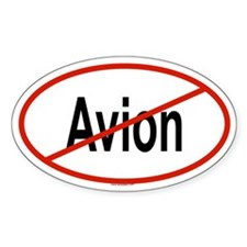 AVION Oval Decal