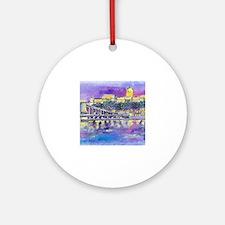 Unique Budapest Round Ornament
