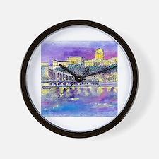 Cool Castles Wall Clock