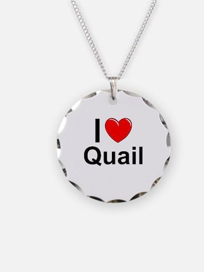 Quail Necklace