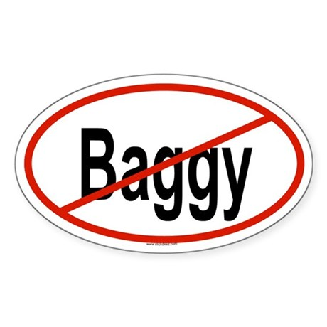 BAGGY Oval Sticker