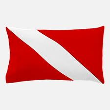 Diving: Diving Flag Pillow Case