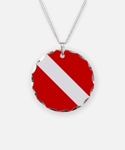 Diving: Diving Flag Necklace