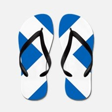 Scotland: Scottish Flag (Saltire) Flip Flops