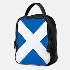 Scotland: Scottish Flag (Saltir Neoprene Lunch Bag