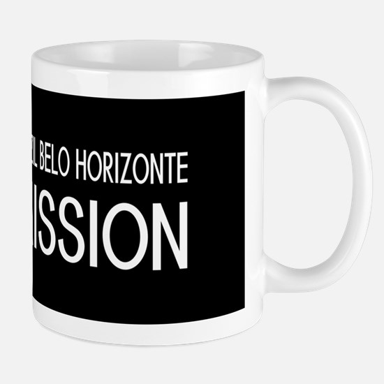 Brazil, Belo Horizonte Mission (Flag) Mug