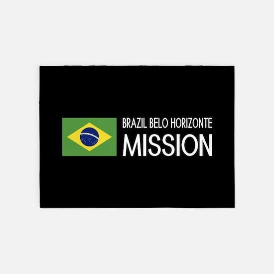 Brazil, Belo Horizonte Mission (Fla 5'x7'Area Rug