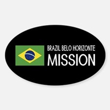 Brazil, Belo Horizonte Mission (Fla Sticker (Oval)