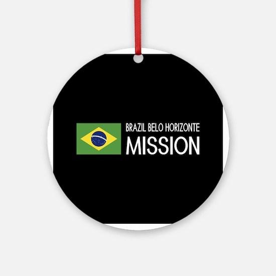 Brazil, Belo Horizonte Mission (Fla Round Ornament