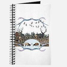 Deer elk and geese Journal