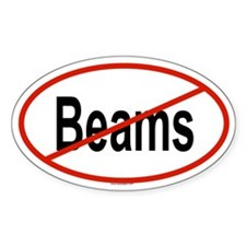 BEAMS Oval Decal