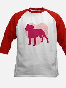 Staffordshire Bull Terrier Valentine's Day Tee