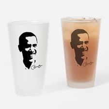 Obama Autographed: Drinking Glass